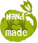 hand made symbol grün