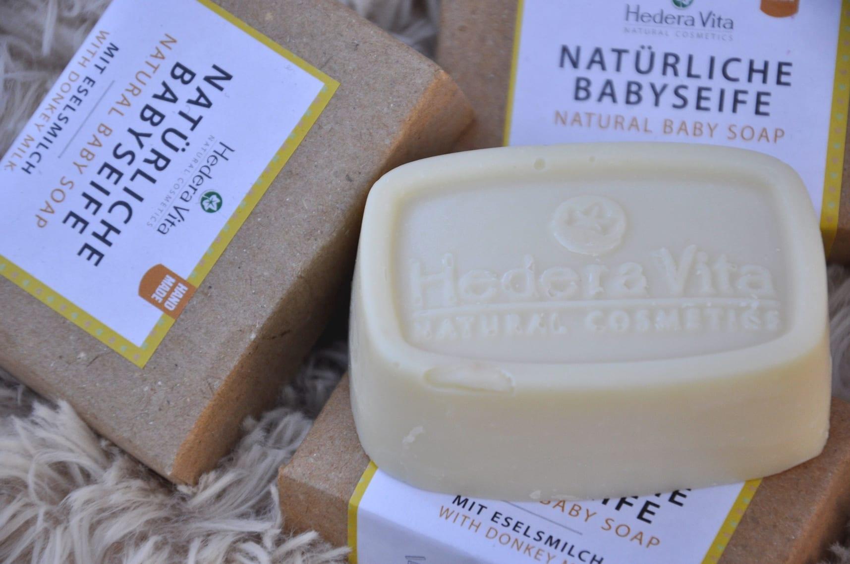 natüriche Babyseife mit Eselsmilch