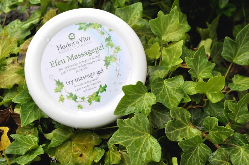 Massagegel Efeu