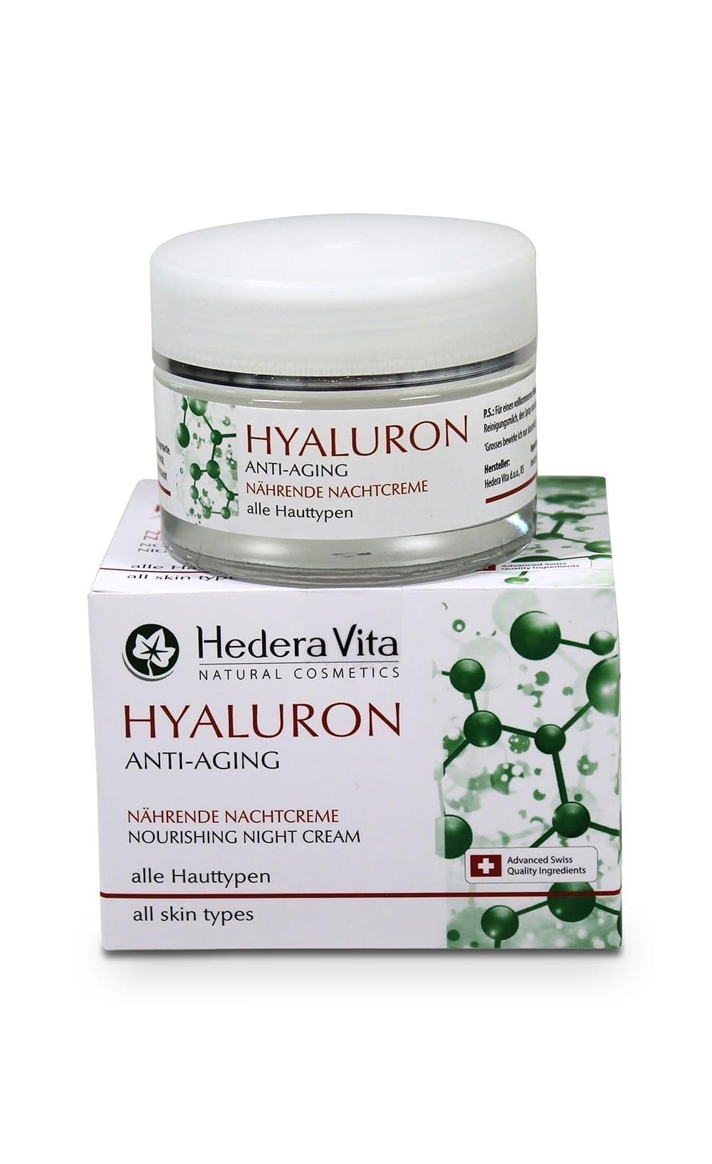 Hyaluron Anti-Aging Nachtcreme 50ml