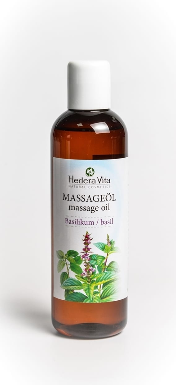 Massageöl Basilikum 200 ml