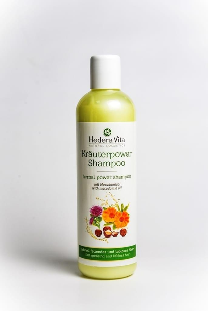 Kräuterpower Haar Shampoo mit Macadamiaöl