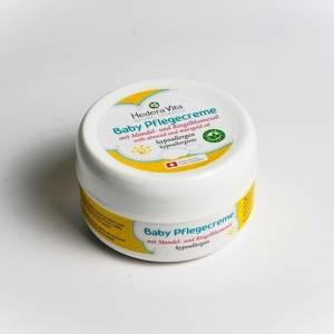 Baby Pflegecreme mit Mandel- und Ringelblumenöl 100 ml
