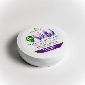 Hand und Nagelcreme mit Lavendelöl und Panthenol 75 ml