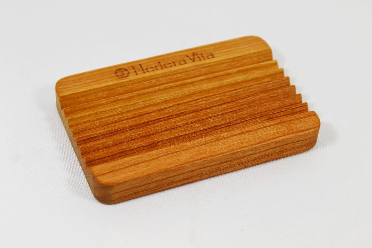Seifenschale aus Buchenholz
