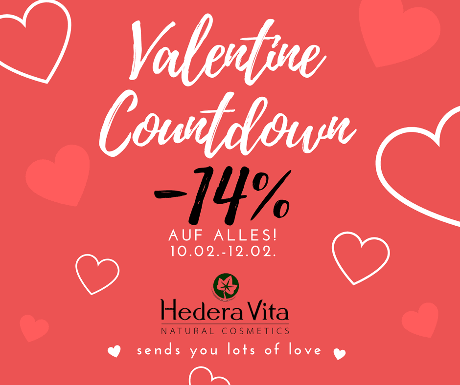 love is in the air -14% auf alles