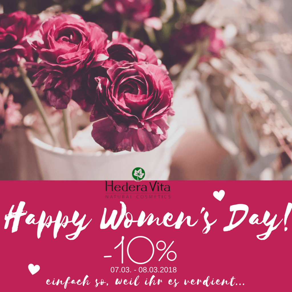 HappyWomensDay - 8 März 2018