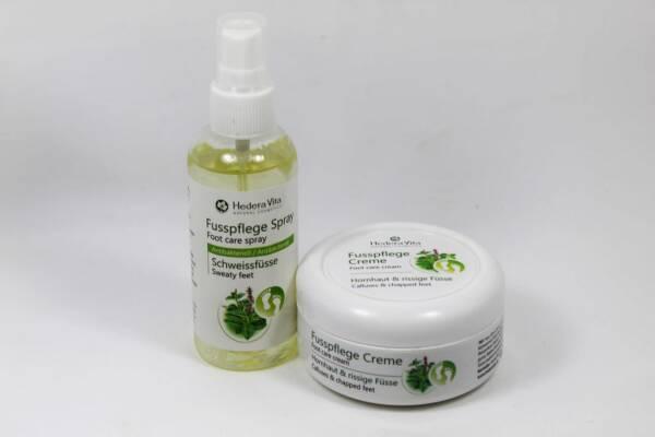 Fusspflege mit 2 Produkten